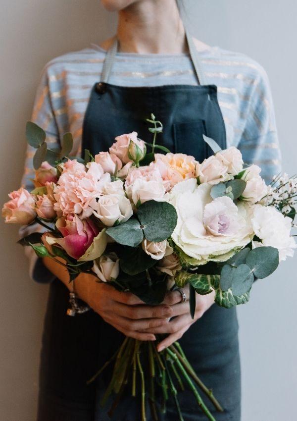 floristens val blombukett